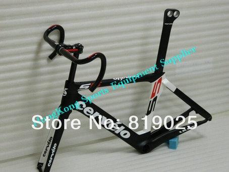 2013 S5 VWD Road Bike Shiman0 Carbon Dura Ace C50 Wheels+Frameset