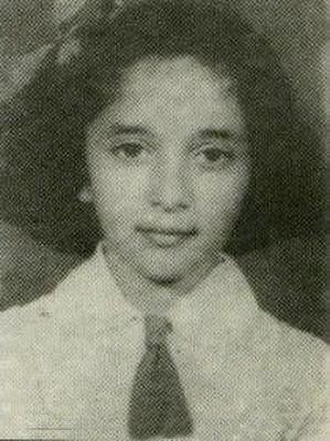 Madhuri childhood photos