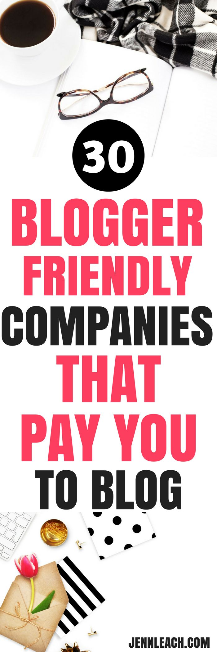 Check out these 30+ companies that pay you for sponsored content #blogsponsorships #paidtoblog #makemoneyblogging