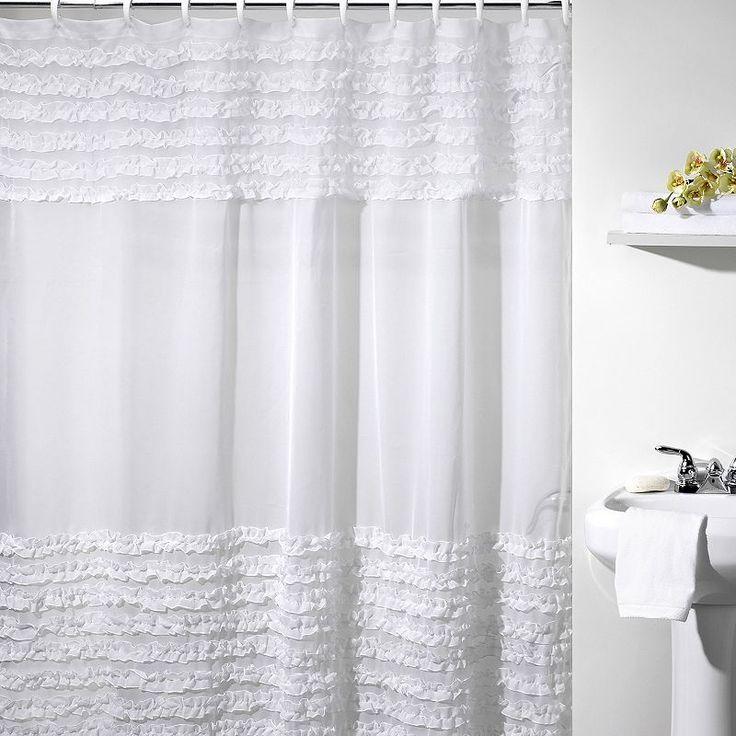 Best 25 Fabric Shower Curtains Ideas On Pinterest How