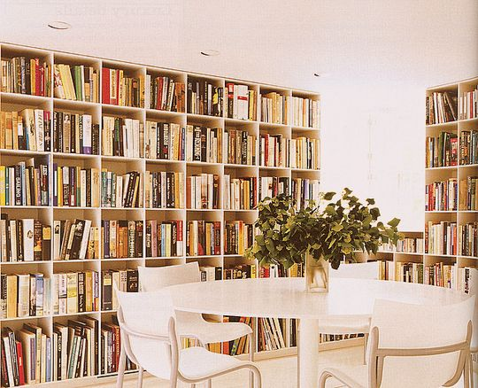 Downsizing Solution Double Duty Rooms Personal LibraryHome LibrariesLibrary IdeasApartment TherapyOffice IdeasDining