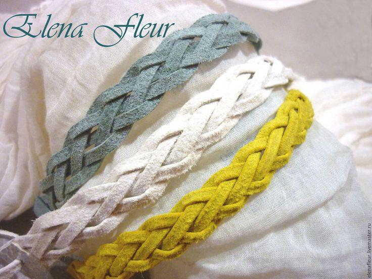 Купить Плетеные кожаные браслеты - браслет из кожи, плетеный браслет, кожаный браслет, браслеты из кожи