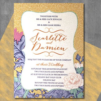 15 best Wedding invitations by Couture Card Company images on