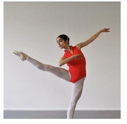 dancer of Vaganova technique