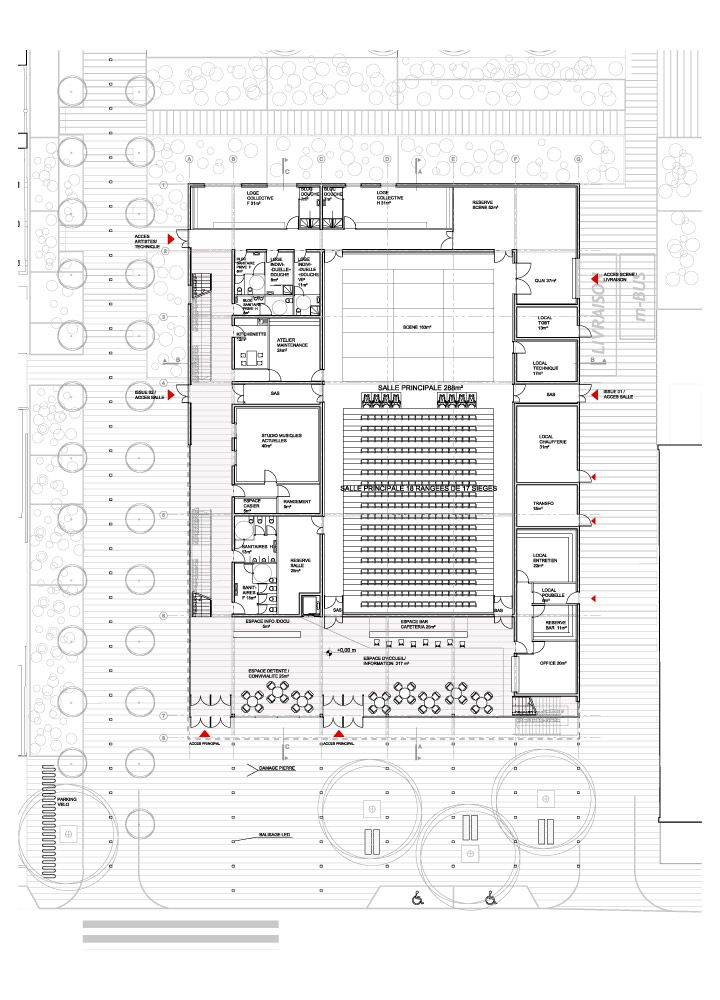 Bustler: Serero Architects Designs Meudon New Cultural Center