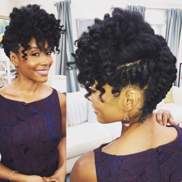 Loving this style on Simone Missick!  #essence #naturalhairdaily #naturalhairdoescare #naturalhairkids