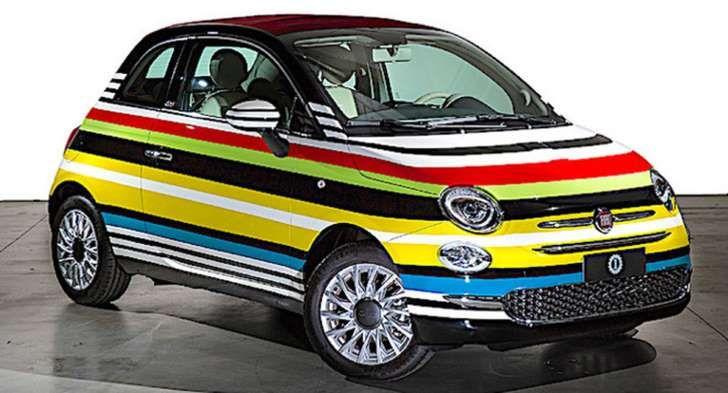 La Fiat 500C Missoni by Lapo Elkann messa all'asta