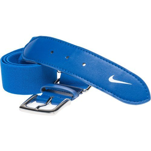 Nike Youth Baseball Uniform Belt Blue/White - Baseball Apparel, Belts Hats/Ref Apparel at Academy Sports