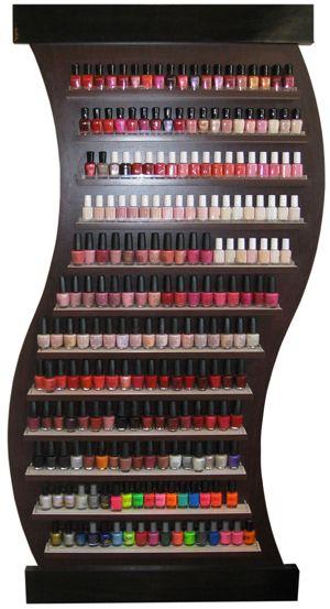 Nail Salon Shelf