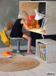 25 beste idee n over kind bureau op pinterest kinderen bureau gebieden kinderen huiswerk - Volwassen slaapkamer idee ...