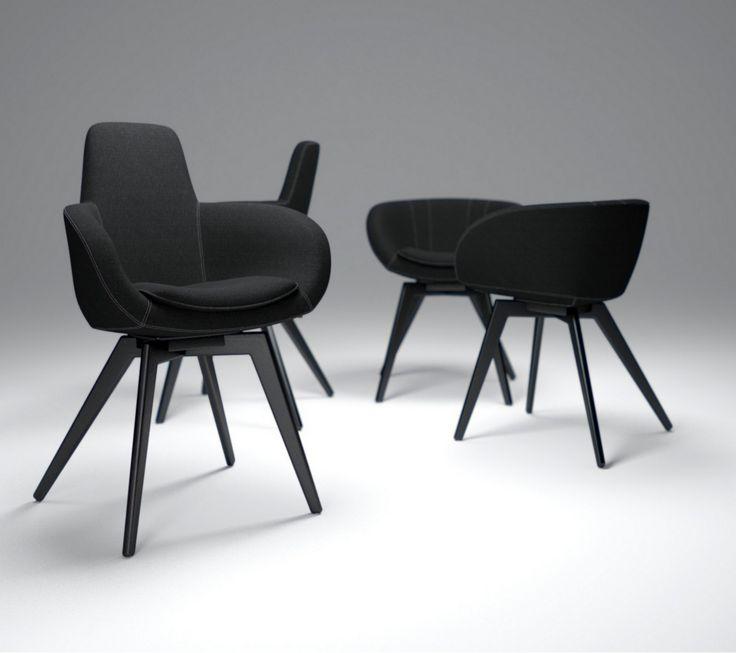 SCOOP HIGH & COOPER armchairs by #tomdixon - All products on our website. Designer : @tomdixonstudio