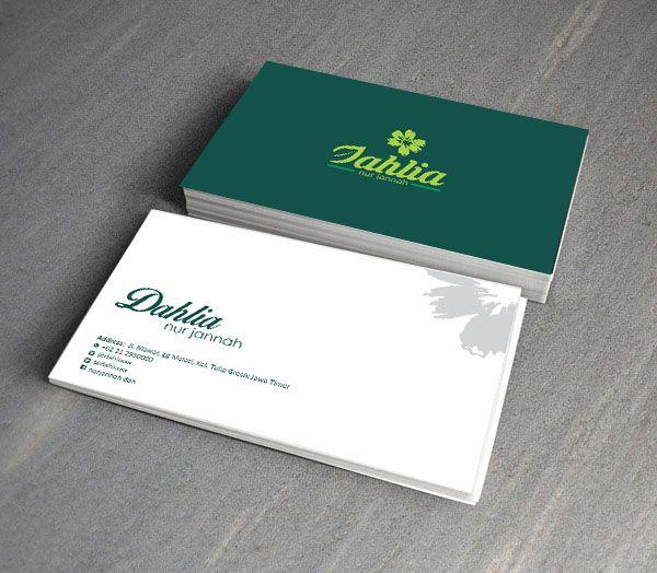 Dahlia bussiness card