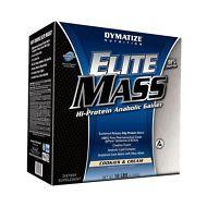 Elite Mass Gainer 10 lbs (4535g) - Dymatize - Gainer, Ganador de peso