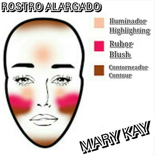 El rostro alargado . si eres de las chicas que tienen este rostro , checa estos tips para mejorar tu rostro iluminando, como debes aplicar el rubor, y como contornear.