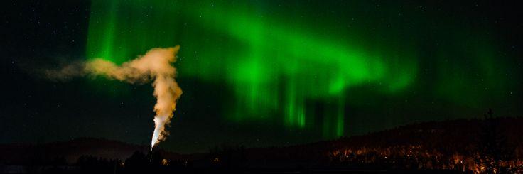 Aurora Borealis over Karasjok  http://tiboine.com/2014/03/10/jakten-pa-nordlyset/  #Aurora borealis #Karasjok #northern lights