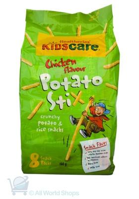 Potato Stix - Chicken Flavour - Healtheries http://www.shopnewzealand.co.nz/en/cp/Kidscare