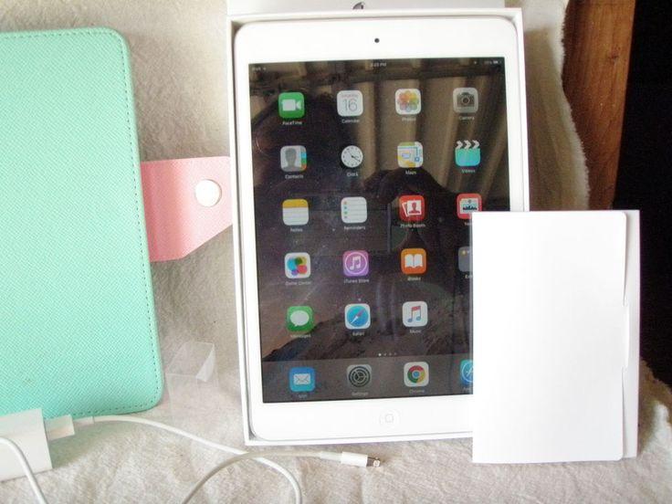 Apple iPad mini 1st Generation 16GB, Wi-Fi, 7.9in - White & Silver #Apple