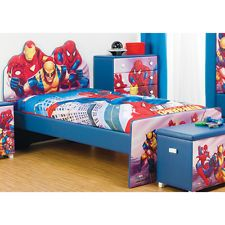 Captivating Bedroom Featuring IRON MAN With The Avengers