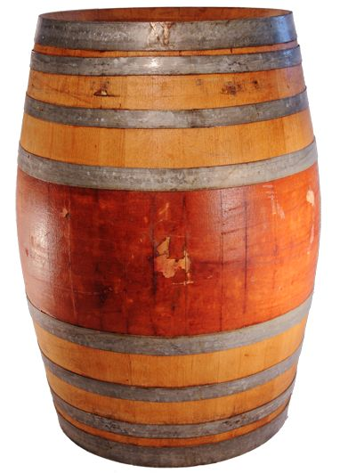 recycled wine barrels for sale or rent