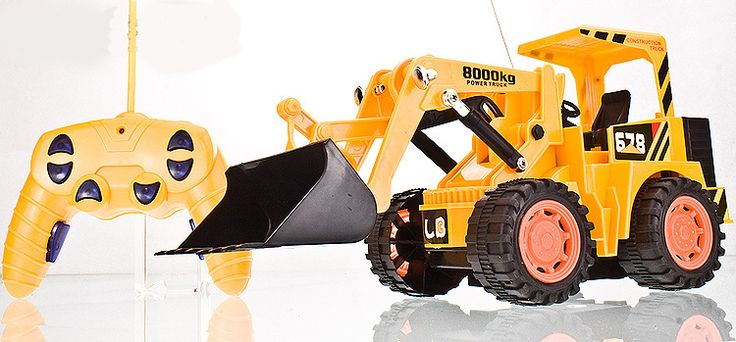 Free Shipping big size RC bulldozer cars toys for children Remote control 6 Channels truck best gift for kids-in RC Cars from Toys & Hobbies on Aliexpress.com | Alibaba Group