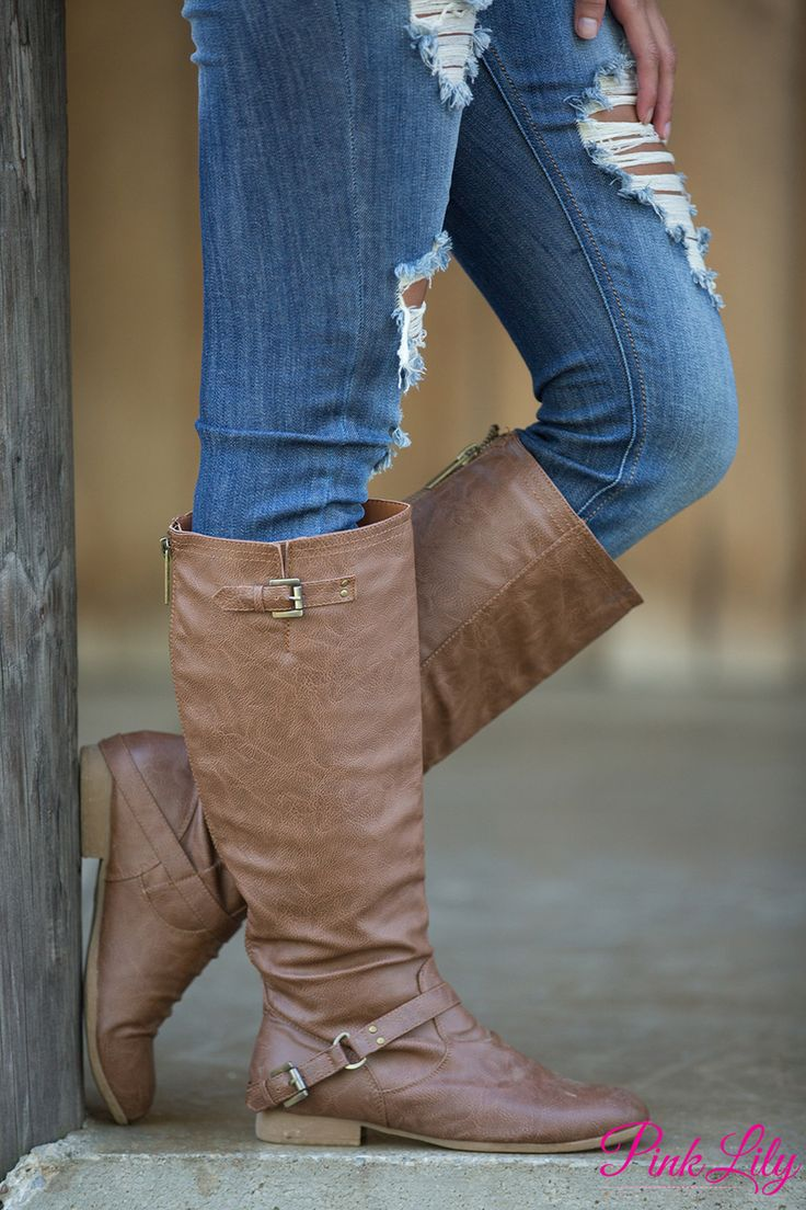 The Ashley Boots - The Pink Lily
