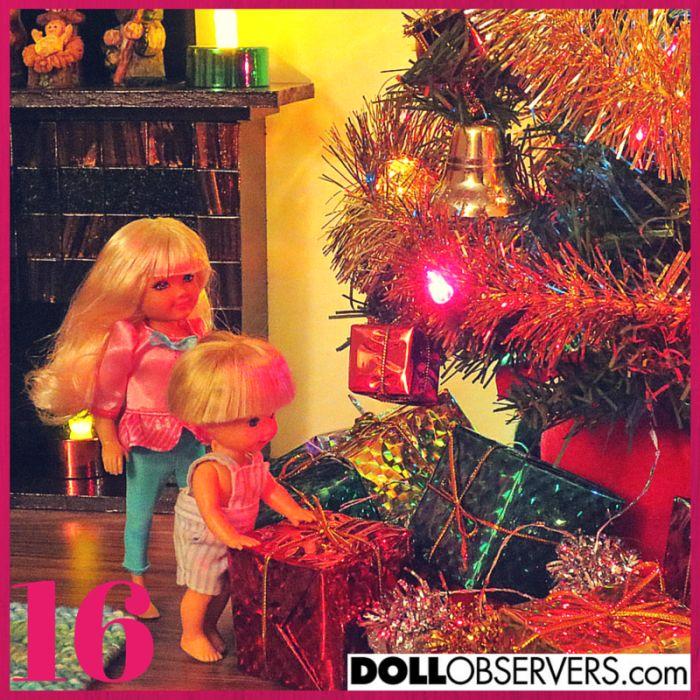 Advent Calendar Day 16. Photo courtesy of DollObservers Member, Cindi. http://dollobservers.com/forum/advent-calendar-2014