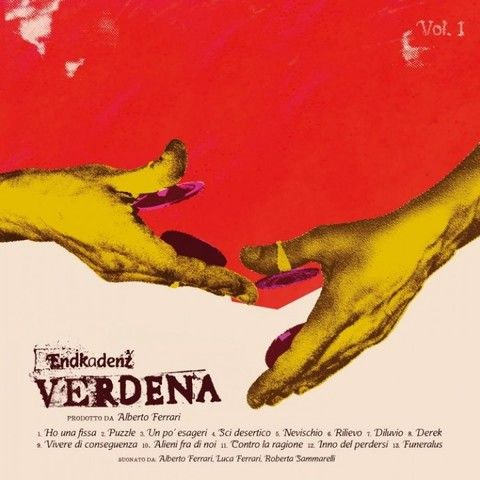 Verdena - Endkadenz Vol.1 (2015)  Alt. Rock / Grunge band from Italy  #Verdena #AlternativeRock #Grunge