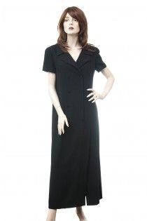 CHANEL luxusní vlněné šaty s rozparky / CHANEL wool dress