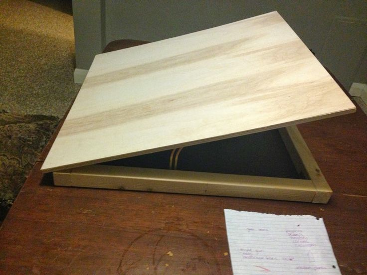 Pandora's Box of DIY: Portable Drafting Table                                                                                                                                                      More