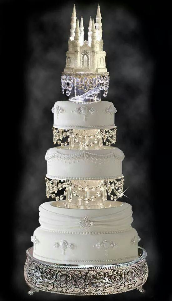 # CINDERELLA WEDDING CAKE
