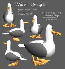 finding nemo seagulls - Google Search