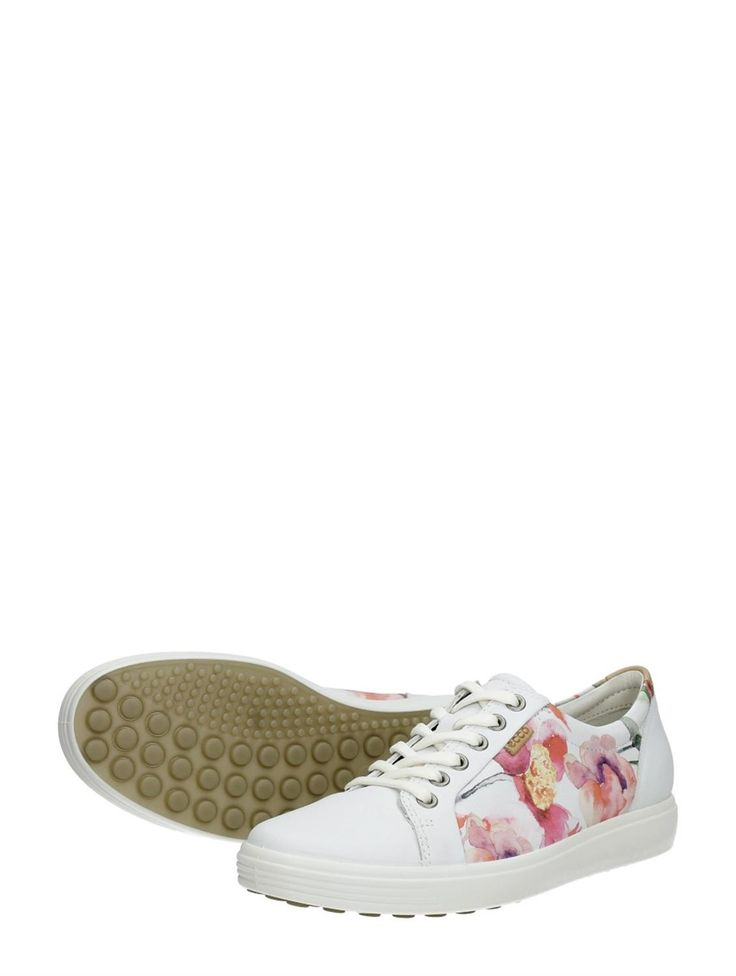 ✔ Ecco sneakers met bloemen