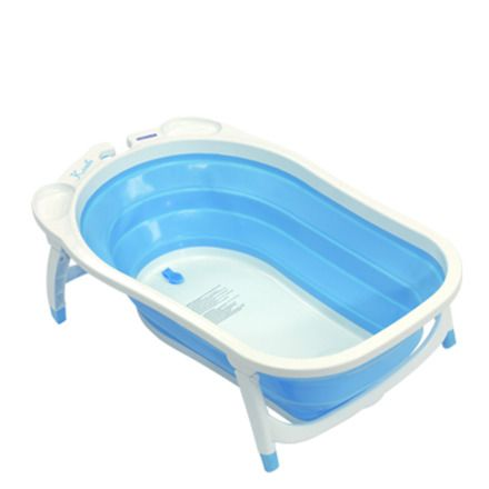 Bañera plegable Bebé Due Karibú blanco/azul El Corte Ingles 44€