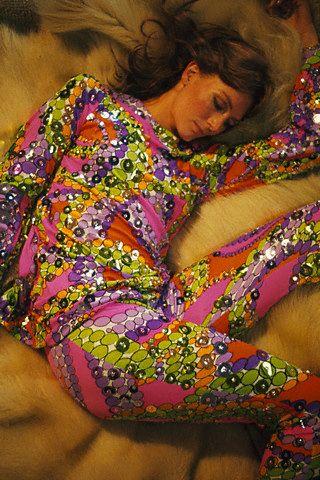 Vanessa Redgrave in cool fabric 1970s