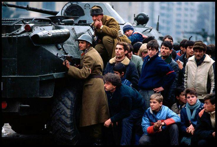 Revolution ,Bucharest -Romanian 1989