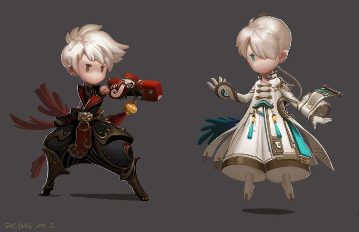 2Q, RC Yang on ArtStation at https://www.artstation.com/artwork/2q