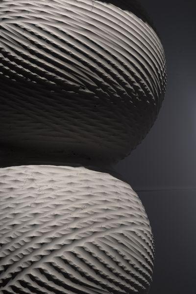 Digital Lithic Design – The Italian Stone Theatre: Glomus, dettaglio. Digital Lithic Design, mostra che unisce design, tecnologia e progettazione digitale nel settore lapideo italiano. #Marmomacc #Marble #Stone #Design #Verona http://architetturaedesign.marmomacc.com/the-italian-stone-theatre/le-sperimentazioni-litiche/digital-lithic-design/