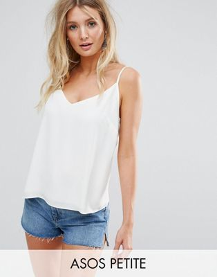 ASOS PETITE Fuller Bust Swing Cami with Double Layer