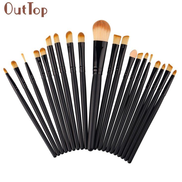 GRACEFUL  20 pcs Makeup Brushes Set tools Make-up Toiletry Kit Wool Make Up lip eyeshadow Brush Set pincel maquiagem OCT21 #Affiliate
