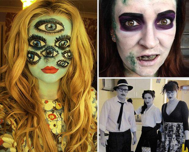 15 Super Cool Halloween Makeup Ideas