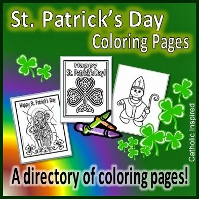 Coloring Pages for St. Patrick's Day! {Lots to choose from!} - Catholic Inspired