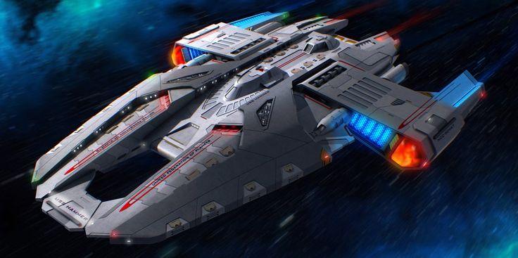 USS Hammer - Warp Configuration by DonMeiklejohn