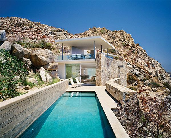 modern house located in Cabo San Lucas: Casafinisterra, Favorite Places, Finisterra Home, Pool, House, Architecture, Cabo San Lucas