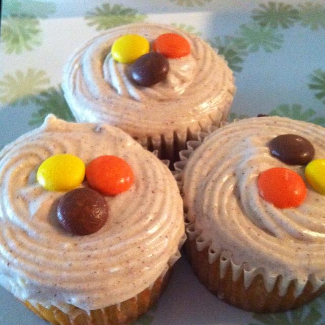 Gluten Free Pumpkin Spice Cupcakes :) | Fall | Pinterest