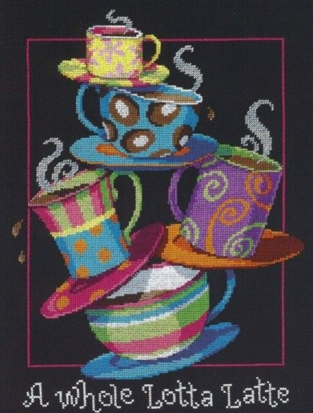 I cross stitched one of these once.
