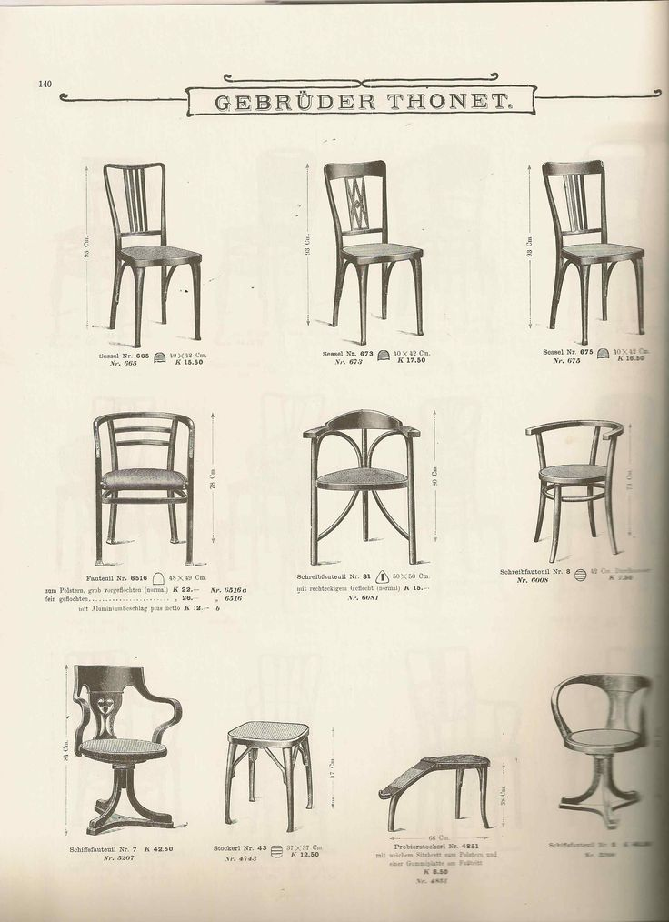 A page from the 1904 Gebr der Thonet Catalog  including the three legged  chair. 36 best thonet images on Pinterest   Mirrors  Vintage furniture
