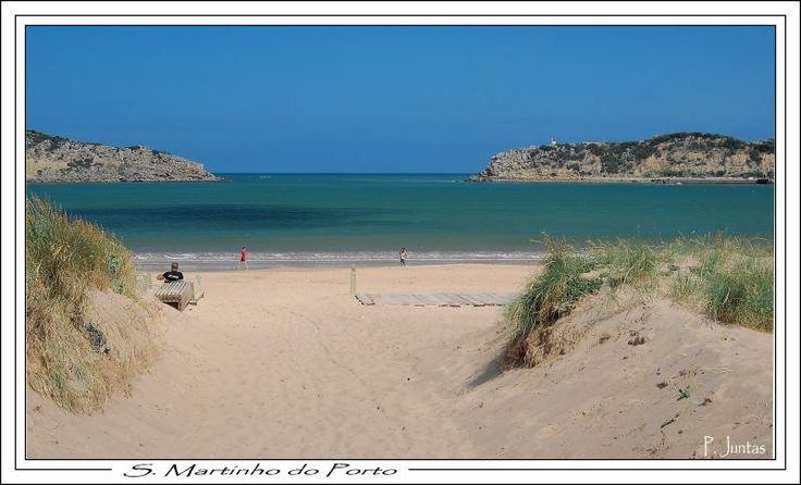 Praia de São Martinho do Porto-melhores-praias-do-centro-de-Portugal