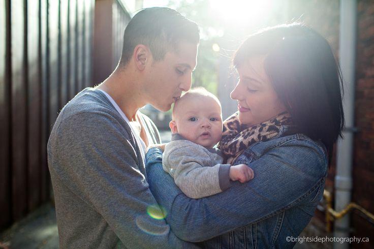 Downtown Burlington Family Photographer  #family #baby