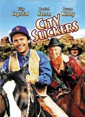 "Every scene is hilarious - Billy Crystal shines, Jack Palance is a real ""toughie"" - this is the ultimate Mid Life Crisis movie."