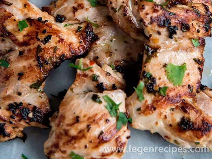Cilantro And Lime Chicken Recipe - http://www.legenrecipes.com/recipe/cilantro-lime-chicken-recipe/
